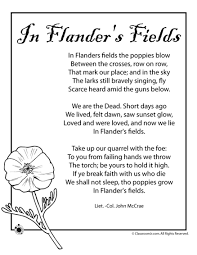 a little known tribute contuation of the great war poem