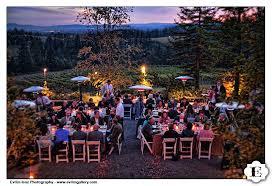 free wedding venues in oregon portland oregon fall wedding at garden vineyards