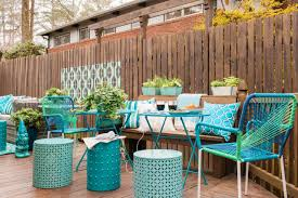 backyard tables match home outdoor decoration