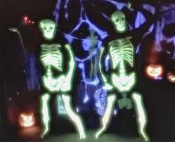 day of the dead dance glow in the dark skeleton morphsuit