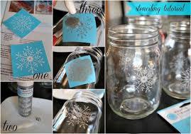 Decorate A Mason Jar For Christmas by White Christmas Mason Jar Luminaries Hometalk