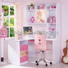 lovely pink mdf furniture kids computer desk with chair 962 buy