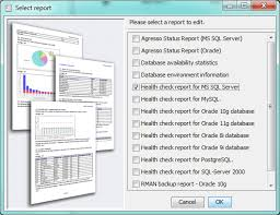 sql server health check report template edit report templates dbwatch 12 2