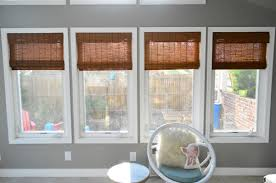 Blinds For Windows And Doors It U0027s Gettin In Hur So Add Some Bamboo Blinds Young House Love