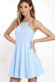 light blue dress call to charms light blue skater dress light blue skater dress