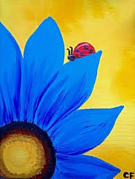 paint night paintings flower google search paint ideas