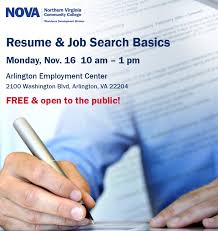 Resume And Job Search Services by Nova Workforce Development Division Certification Training And
