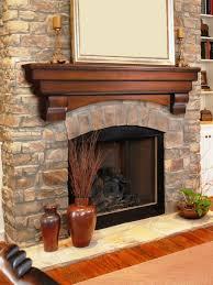 Mantel Decorating Tips Fireplace Mantel Decor Vase With Fresh Flowers