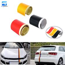 Black Red And Yellow Flag 2016 New 3pcs Lot New Red Yellow Black Car Pvc Sticker Germany