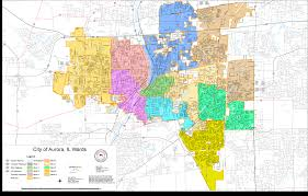 Illinois District Map by Aurora Election Commission Maps And Gis