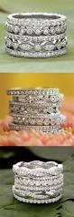 Stacked Wedding Rings by Best 25 Stacked Wedding Rings Ideas On Pinterest Stackable