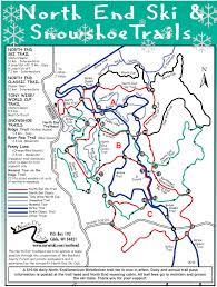Porcupine Mountains State Park Map by Skinnyski Com Ski Trails
