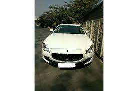 maserati bangalore buy maserati quattroporte demo cars online in india