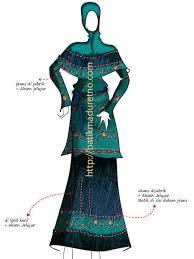 desain baju batik wanita