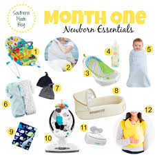 newborn essentials month one newborn essentials giveaway southern made
