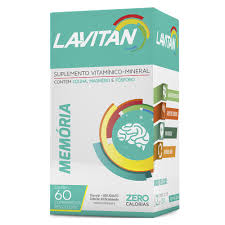 Muito Lavitan Memoria com 60 comprimidos | Drogaria Venancio @LQ59
