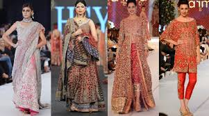 top designers pfdc loreal bridal week 2015 2016 designer collections