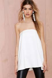 strapless blouse strapless looks this s it style the fashion tag