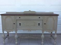 flea market chic sideboard styling ideas buffet room and