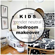 Gender Neutral Bedroom - kids gender neutral bedroom makeover houseologie