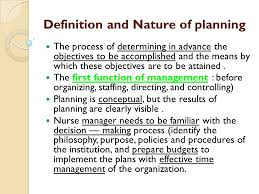 controlling definition define the planning organizing staffing directing controlling