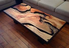 tree trunk coffee table unique coffee table design in your enchanting living room area