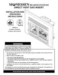 fresh superior gas fireplace manual design decor fresh with
