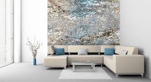 wohnzimmer ideen wandgestaltung grau trendige winkelmuster streichen ideen für wohnzimmer ideen