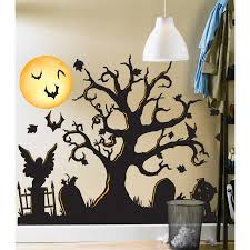 halloween wall decal for kids room removable vinyl art wall