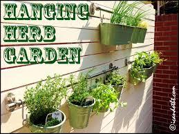 apartments picturesque hanging herb garden burlap