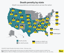 map usa penalty how a shortage of lethal injection drugs put the penalty