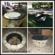 Firepit Inserts Custom Pit Inserts And Covers Gs Metalworx