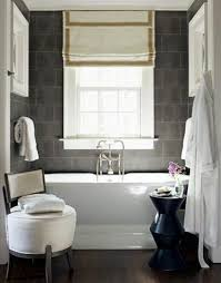 ideas for bathroom window treatments bathroom grey bathroom curtains nice white and grey roman shades