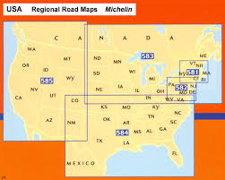 map of ne usa and canada northeastern usa eastern canada michelin regional map 583