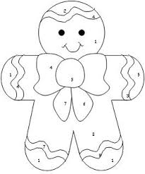 gingerbreadman coloring page gingerbread roll and color th
