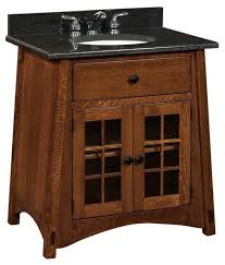 craftsman style bathroom ideas extraordinary mccoy bathroom vanity craftsman vanities and sink of