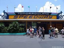themes in magic kingdom tomorrowland speedway magic kingdom walt disney world