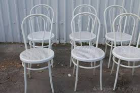 Bistro Chairs Uk Antiques Atlas White Bentwood Chairs Restaurant Cafe Chairs