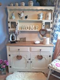 shabby chic welsh dresser painted in farrow u0026 ball clunch then