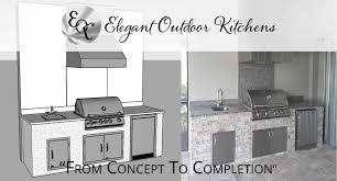 Outdoor Kitchen Blueprints The Elegant Outdoor Kitchen Difference Southwest Florida
