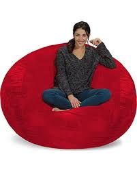 big deal on chill sack bean bag chair giant memory foam furniture