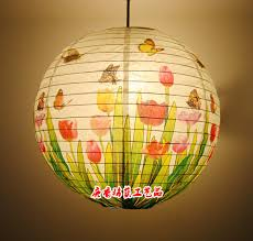 Cool Lamp Shade Living Room The Year Round Home Decoration Art Paper Hanging Lamp