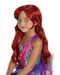red wigs for halloween amazon com disney princess ariel wig toys u0026 games