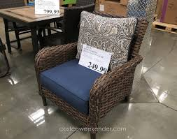 Costco Com Patio Furniture - studio by brown jordan woven accent chair costco weekender