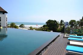 swimming pool amazing large rooftop pool design with dark brown