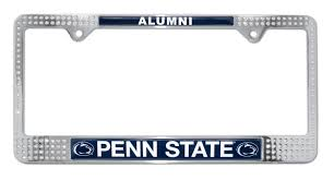 san diego state alumni license plate frame penn state picture frame choice image craft decoration ideas