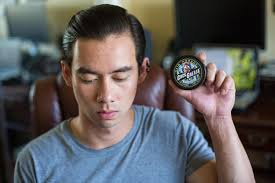 Pomade Air grease water type pomade and firm