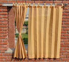 buy hippo outdoor curtains brown colour window size 2 nos x