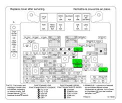 fuse box diagram 2007 gmc sierra gmc wiring diagrams for diy car