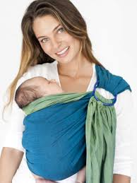 reversible organic cotton ring sling plants one tree baby